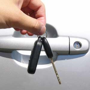 Person Dangling Keys
